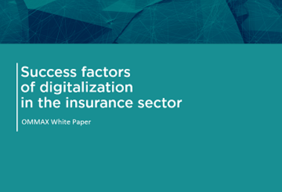 "OMMAX Whitepaper ""Digitalization in the Insurance"